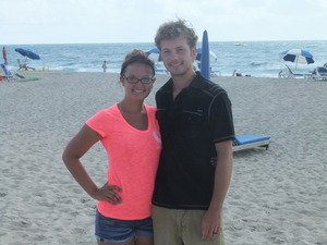 My boyfriend and best friend. He is the #1 person in my life who def. makes me feel beautiful, even on my off days :)