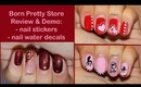 Three Valentine's Day Nail Designs: Born Pretty Store Review & Demo