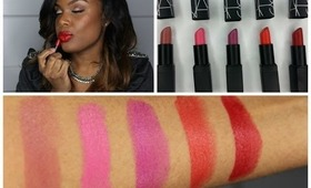 NARS Guy Bourdin Cinematic Lipsticks (Lip Swatches and Review)