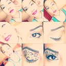 My makeup style