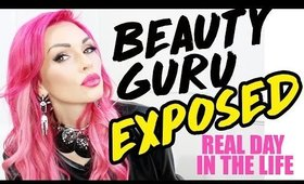A DAY IN THE LIFE OF A BEAUTY GURU