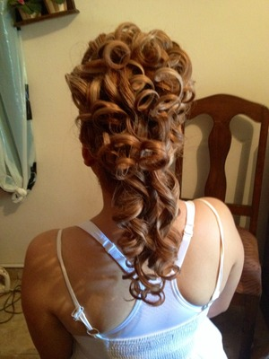 Final choice to do the UpDo on the Bride!