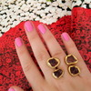 Pink nails!