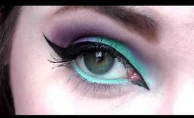 Colorful Eyeliner on The Waterline! Tutorial and Tips!