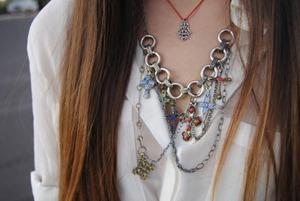 fashion cross necklace