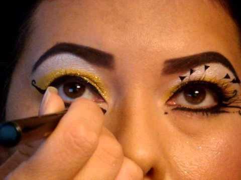 HALLOWEEN SERIES | BUMBLE BEE MAKE UP | 9TwelveMUAStudios ... Halloween Makeup For Men