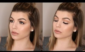 Spring Daytime Glam Makeup Tutorial (Great for Hooded Eyes!)