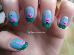 http://barukrizova.blogspot.cz/2013/03/flamingos.html