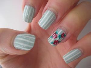 spring garden nails