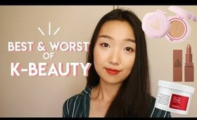 Best & Worst of Korean Beauty (in my opinion)
