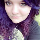 Purple hair :)