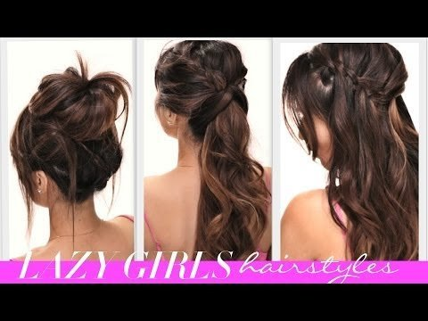 4 Easy Lazy Girl S Back To School Hairstyles Cute Braids Messy