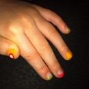 Spring nails for daughter