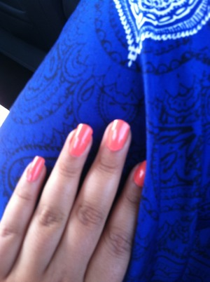 Vibrant colors <3 navy blue with orange