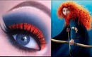 Princess Merida Makeup Tutorial