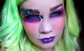 Hanna Majava Can Put the Whole Universe on Your Eyelid. Seriously.