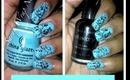 #124 Easy Saran Wrap Nails