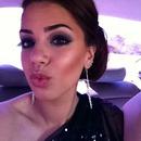 Blue Smokey Eye Glamorous Wedding Makeup