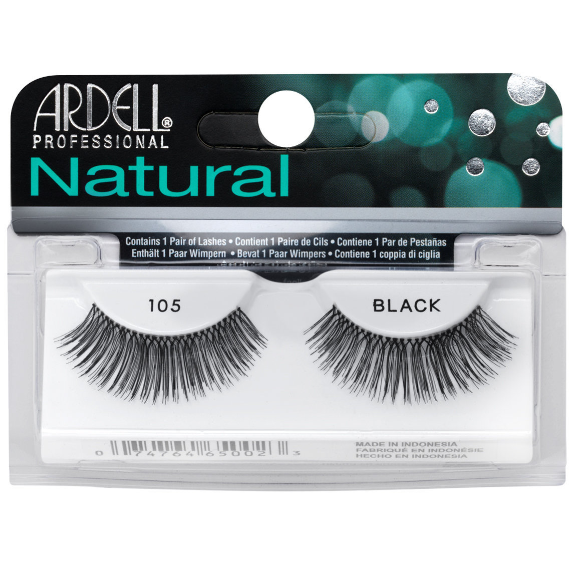 Ardell Natural Lashes 105 Black alternative view 1.