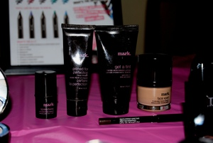 mark. foundations in liquid, stick, tinted moisturizer, & we also have mark. face primer.