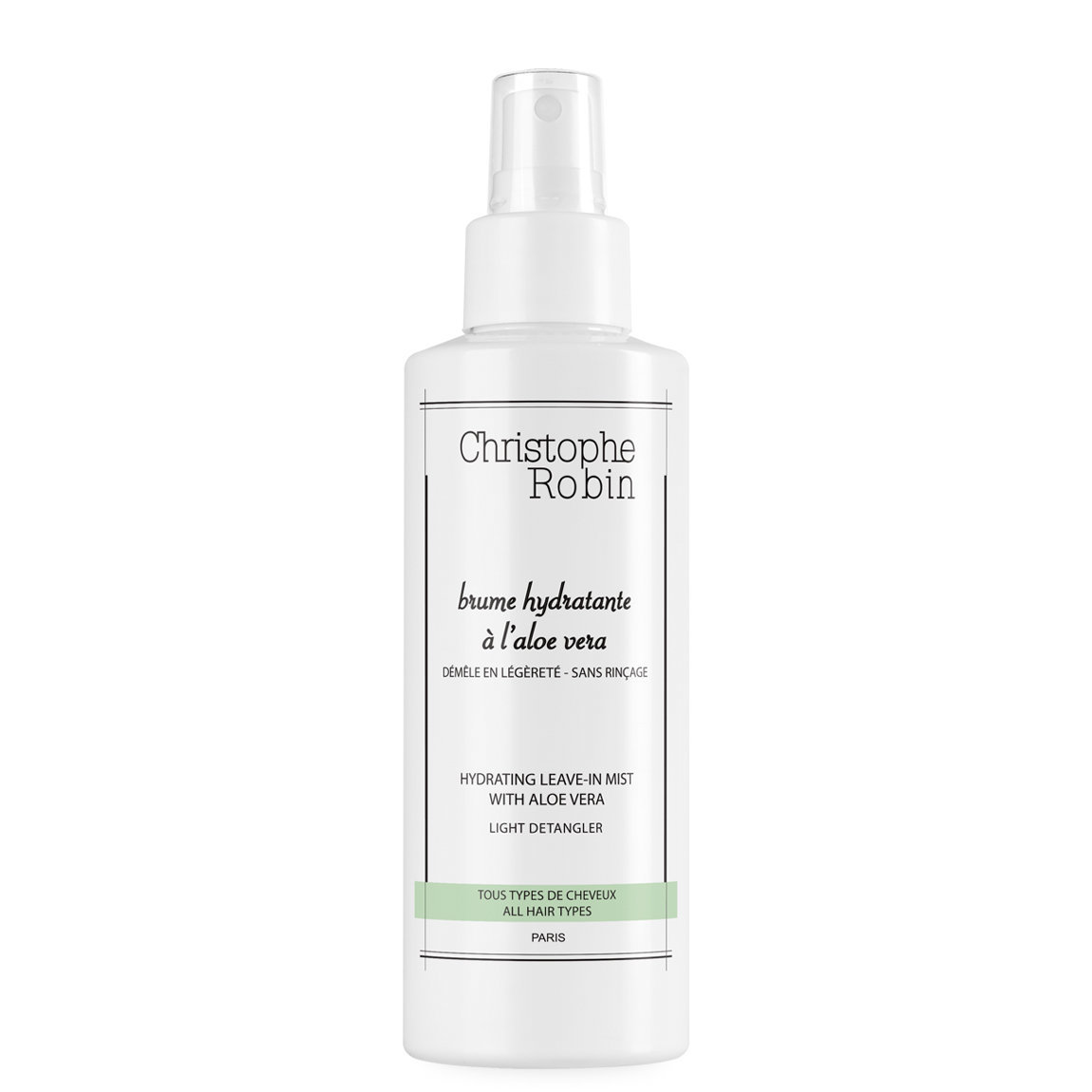 Christophe Robin Hydrating Leave-In Mist with Aloe Vera alternative view 1 - product swatch.
