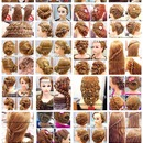 Some Hair Updos Inspiration_Part 2 (Bridal, Prom, Party, Holiday, Celebrity & Natural Look)