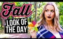 Get Ready with Me || A Fall Inspired Look
