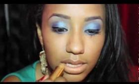 Makeup Look Birthstone Series: September Sapphire [Blue/Aqua]