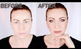 SOFT LIFTING MAKEUP WITHOUT USING EYELINER