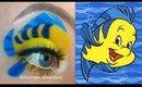 Flounder Makeup Tutorial