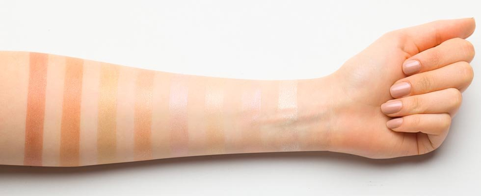 Jeffree Star Cosmetics Liquid Frost Swatches