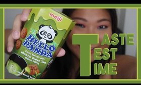 Taste Test Time | Hello Panda Green Tea
