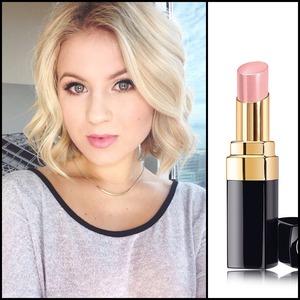 I love this lipstick. {CHANEL Rouge Coco Shine - Secret}