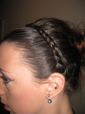Jessica Alba inspired hair