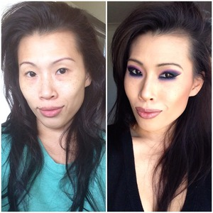 What a transformation. Lol.