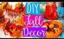 DIY FALL ROOM DECOR | Cozy & Tumblr Inspired