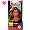Bling String 500' Hair Tinsel with Clips - Hologram Gold/Bronze