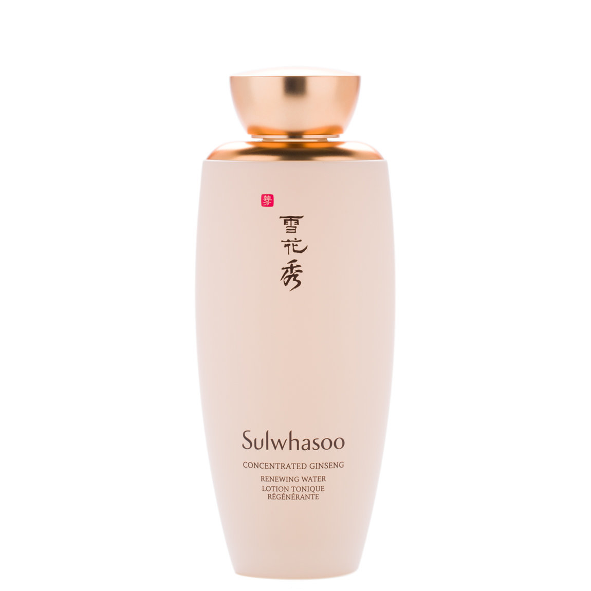 Sulwhasoo Concentrated Ginseng Renewing Water product smear.