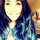 I miss my black hair!!