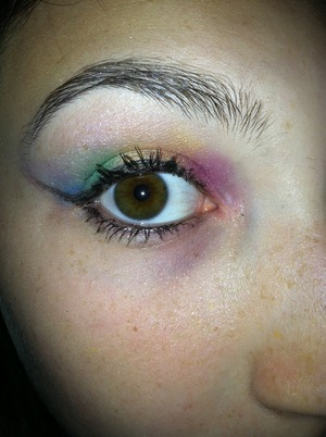 One of the first looks I have ever done! This was done in 2011