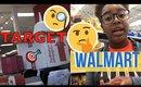 Target vs Walmart | BACK TO SCHOOL SHOPPING!