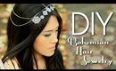 DIY Nicole Richie's Boho Hair Jewelry {Collab w/ LetsMakeItUp1} Halloween Accessory