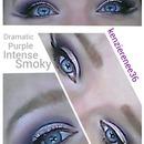 Intense Purple Eye