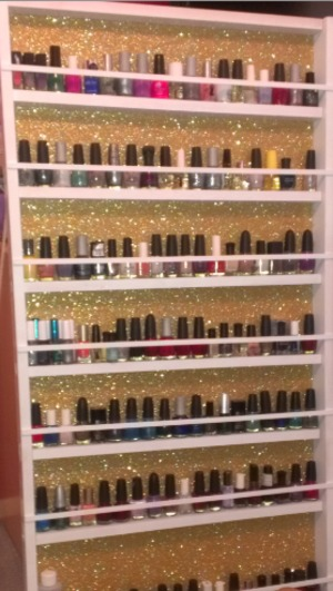 Completed my nail rack