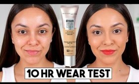 MAYBELLINE DREAM URBAN COVER FOUNDATION FIRST IMPRESSION REVIEW - TrinaDuhra