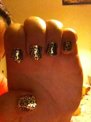 Nail stickers.