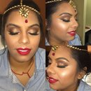 Indian Wedding Makeup by Bran!