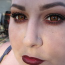 Cullen Halloween Makeup 2012