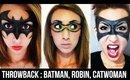 THROWBACK SERIES #11: Batman & Robin Masks (+ Catwoman Snippet)   Courtney Little