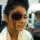SPFX blown up eye
